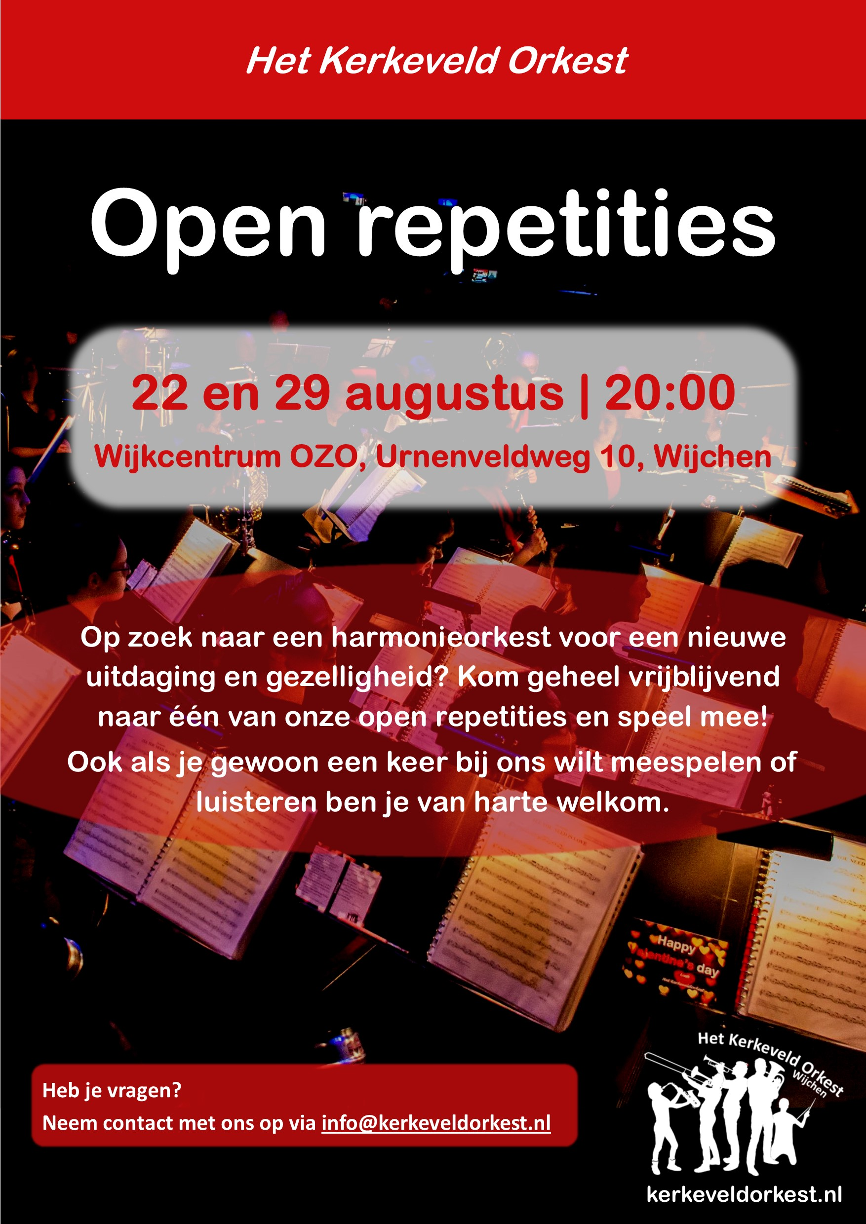 Flyer open repetitie augustus 2018