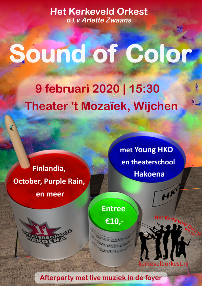Poster Sound of Color